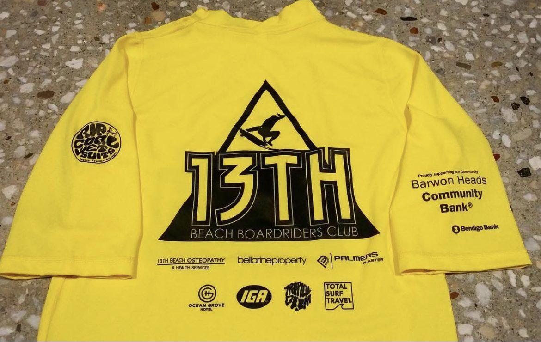 13th Beach Boardriders Sponsor