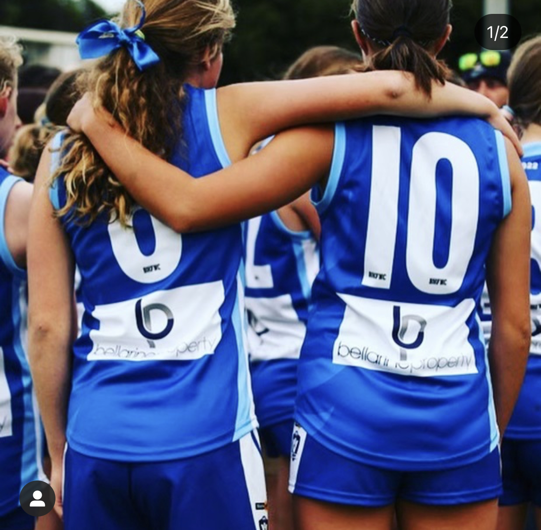 Barwon Heads Junior Girls Football Team