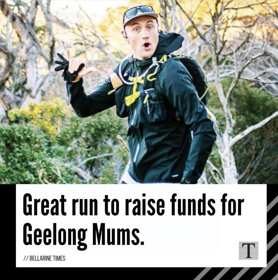 Geelong Mums 300km run by Levi