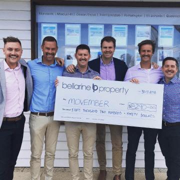 $8,290 2018 Movember Donation