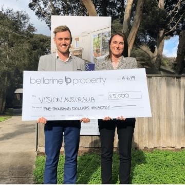 $5K Vision Australia Donation